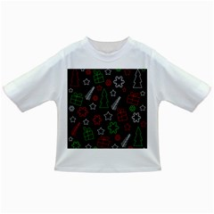 Green and  red Xmas pattern Infant/Toddler T-Shirts