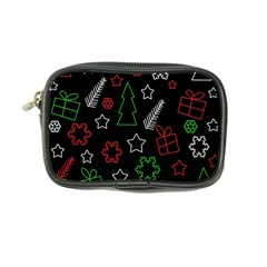 Green and  red Xmas pattern Coin Purse