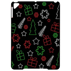 Green And  Red Xmas Pattern Apple Ipad Pro 9 7   Hardshell Case