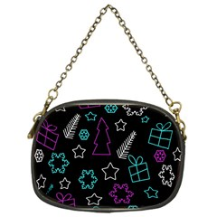 Creative Xmas pattern Chain Purses (One Side)