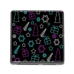 Creative Xmas pattern Memory Card Reader (Square)