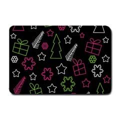 Elegant Xmas pattern Small Doormat