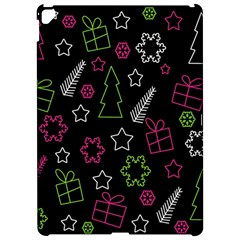 Elegant Xmas pattern Apple iPad Pro 12.9   Hardshell Case