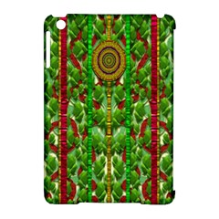 The Golden Moon Over The Holiday Forest Apple Ipad Mini Hardshell Case (compatible With Smart Cover)