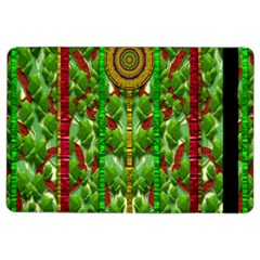 The Golden Moon Over The Holiday Forest Ipad Air 2 Flip