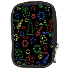 Playful Xmas pattern Compact Camera Cases