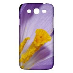 Purple Crocus Samsung Galaxy Mega 5 8 I9152 Hardshell Case