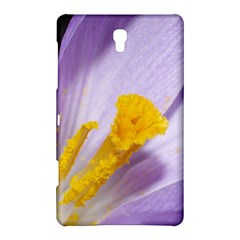 Purple Crocus Samsung Galaxy Tab S (8 4 ) Hardshell Case