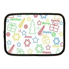 Simple Christmas pattern Netbook Case (Medium)