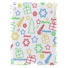 Simple Christmas Pattern Apple Ipad 3/4 Hardshell Case (compatible With Smart Cover)