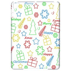 Simple Christmas pattern Apple iPad Pro 9.7   Hardshell Case