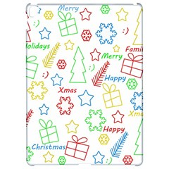 Simple Christmas pattern Apple iPad Pro 12.9   Hardshell Case