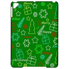 Green Xmas pattern Apple iPad Pro 9.7   Hardshell Case