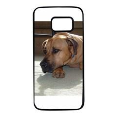 Blackmouth Cur Samsung Galaxy S7 Black Seamless Case