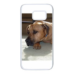 Blackmouth Cur Samsung Galaxy S7 White Seamless Case