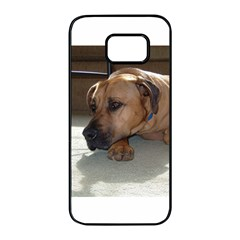 Blackmouth Cur Samsung Galaxy S7 edge Black Seamless Case