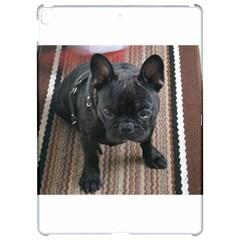 Brindle French Bulldog Sitting Apple iPad Pro 12.9   Hardshell Case
