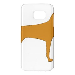 Vizsla Silo Color Samsung Galaxy S7 Edge Hardshell Case