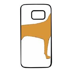 Vizsla Silo Color Samsung Galaxy S7 Black Seamless Case