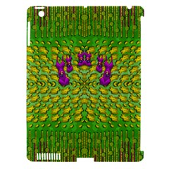 Flowers And Yoga In The Wind Apple Ipad 3/4 Hardshell Case (compatible With Smart Cover)