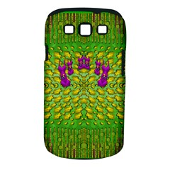 Flowers And Yoga In The Wind Samsung Galaxy S Iii Classic Hardshell Case (pc+silicone)