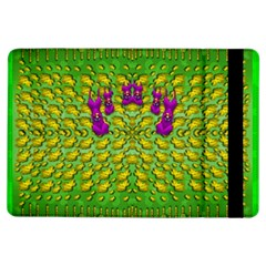 Flowers And Yoga In The Wind Ipad Air Flip