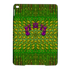 Flowers And Yoga In The Wind Ipad Air 2 Hardshell Cases