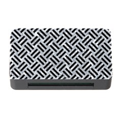 Woven2 Black Marble & Gray Marble (r) Memory Card Reader With Cf