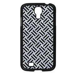 Woven2 Black Marble & Gray Marble (r) Samsung Galaxy S4 I9500/ I9505 Case (black)