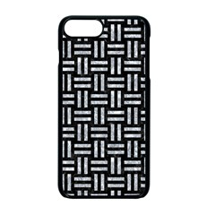 Woven1 Black Marble & Gray Marble Apple Iphone 7 Plus Seamless Case (black)