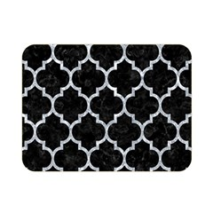 Tile1 Black Marble & Gray Marble Double Sided Flano Blanket (mini)