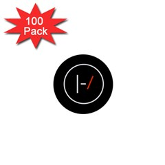 Twenty One Pilots Band Logo 1  Mini Buttons (100 Pack)