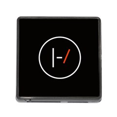 Twenty One Pilots Band Logo Memory Card Reader (square)
