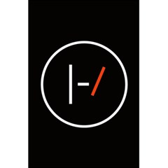 Twenty One Pilots Band Logo 5 5  X 8 5  Notebooks