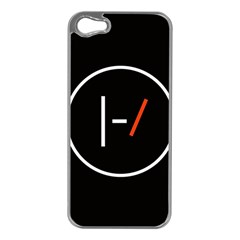 Twenty One Pilots Band Logo Apple Iphone 5 Case (silver)