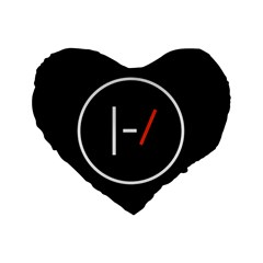Twenty One Pilots Band Logo Standard 16  Premium Heart Shape Cushions