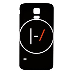 Twenty One Pilots Band Logo Samsung Galaxy S5 Back Case (white)