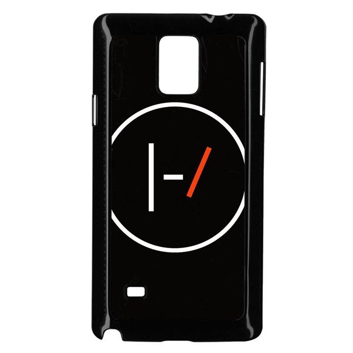 Twenty One Pilots Band Logo Samsung Galaxy Note 4 Case (Black)
