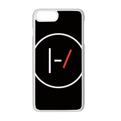 Twenty One Pilots Band Logo Apple Iphone 7 Plus White Seamless Case