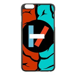 Twenty One Pilots  Apple Iphone 6 Plus/6s Plus Black Enamel Case