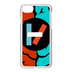 Twenty One Pilots  Apple Iphone 7 Seamless Case (white)