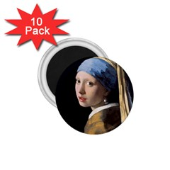 Girl With A Pearl Earring 1 75  Magnets (10 Pack)