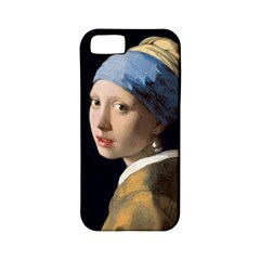 Girl With A Pearl Earring Apple Iphone 5 Classic Hardshell Case (pc+silicone)