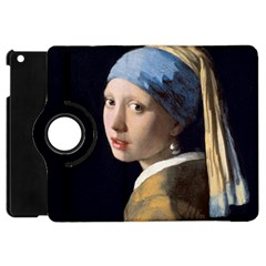 Girl With A Pearl Earring Apple Ipad Mini Flip 360 Case