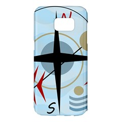 Compass Samsung Galaxy S7 Edge Hardshell Case