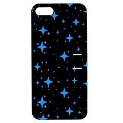 Bright Blue  Stars In Space Apple Iphone 5 Hardshell Case With Stand