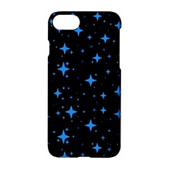 Bright Blue  Stars In Space Apple Iphone 7 Hardshell Case
