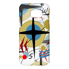 Compass 4 Samsung Galaxy S7 Edge Hardshell Case
