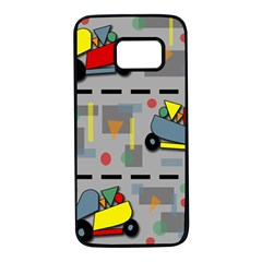 Toy cars Samsung Galaxy S7 Black Seamless Case