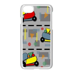 Toy Cars Apple Iphone 7 Seamless Case (white)